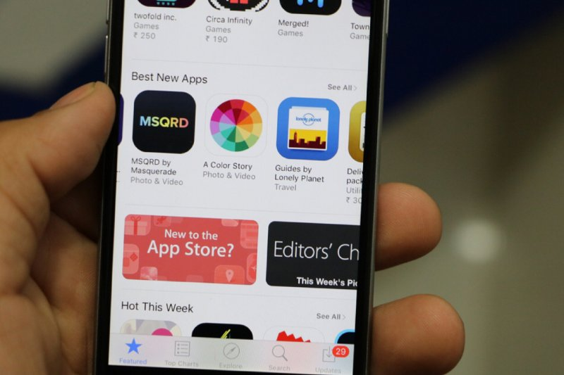 Apple hapus 29ribu aplikasi di App Store China