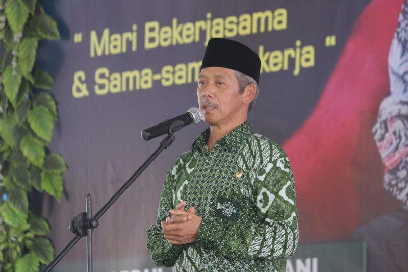 Bupati Pringsewu hadiri pelantikan PCNU dan PC Fatahayat NU