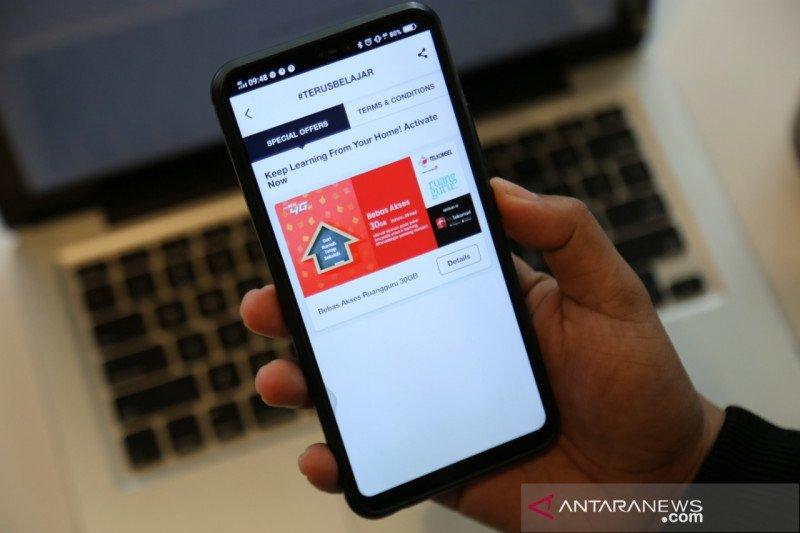 Telkomsel berikan kuota gratis 30GB untuk belajar dari rumah