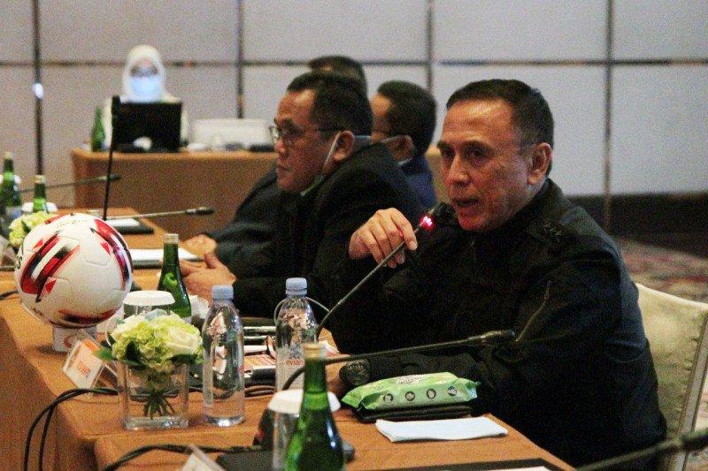 PSSI akan hentikan Liga 1-2 apabila status darurat corona diperpanjang