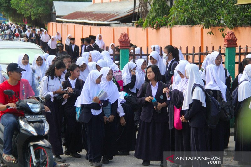 Riau belum gelar sekolah tatap muka