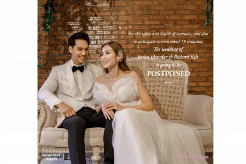 Pernikahan Jessica Iskandar & Richard Kyle ditunda akibat corona