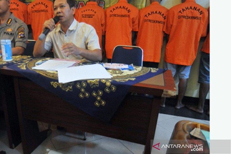 Polisi tangkap lima pelaku tambang emas ilegal