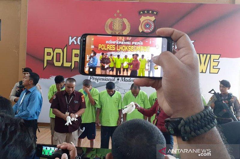 Lebih 82 ribu penduduk Aceh terpapar narkoba dan obat terlarang