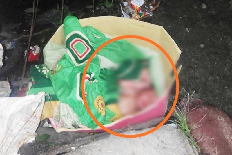 Bayi kembar di tempat pembuangan sampah Sampit Kalteng