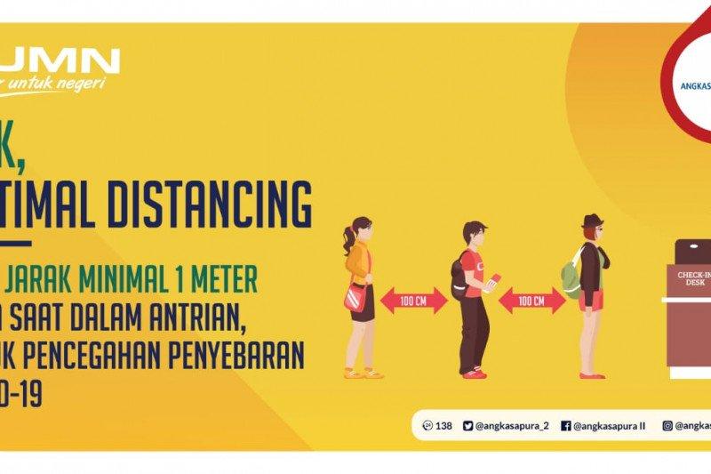 "Bandara Raden Inten  II terapkan ""social distancing"" antisipasi COVID-19"