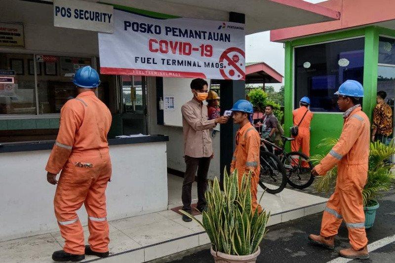 Cegah penyebaran COVID-19, Pertamina imbau konsumen bayar nontunai