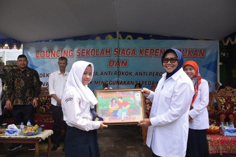 Wabup Sleman meluncurkan SMPN 2 Pakem sebagai Sekolah Siaga Kependudukan