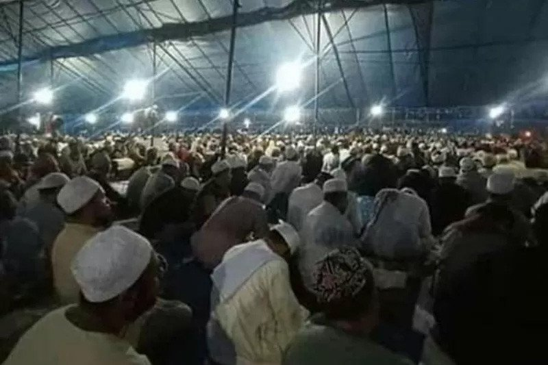 Islamic congregation of Global Ijtima in South Sulawesi postponed