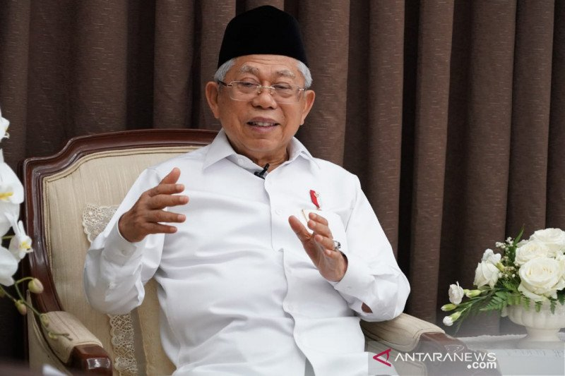 Wapres Ma'ruf Amin sampaikan duka cita untuk ibunda Presiden Jokowi