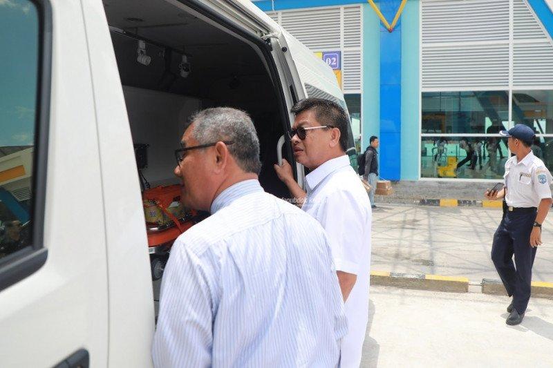 Cegah Corona, Gubernur Cek Langsung Pelabuhan dan Bandara