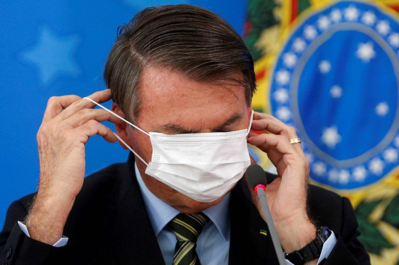 "Presiden Brazil sebutkan yang terapkan ""lockdown"" penjahat"