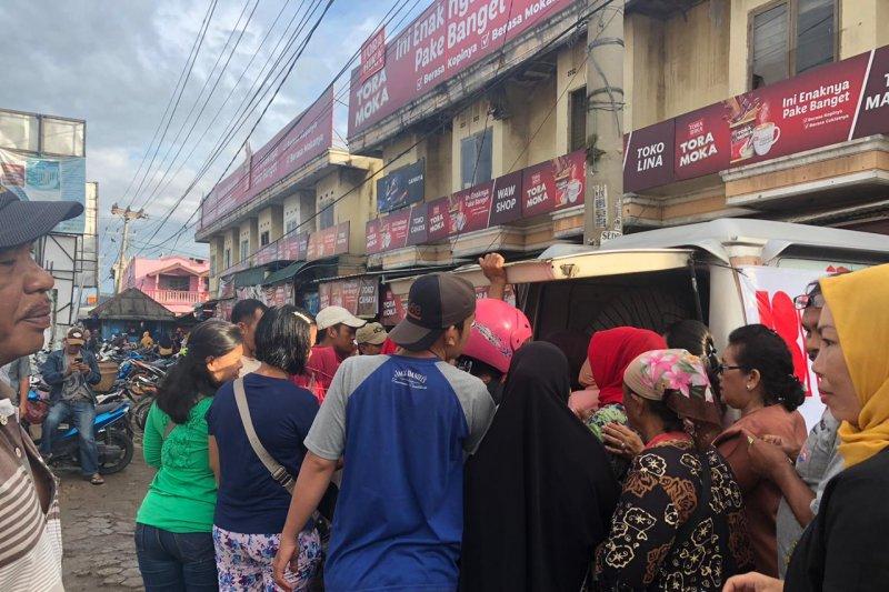 TPID Lampung gelar operasi pasar gula pasir