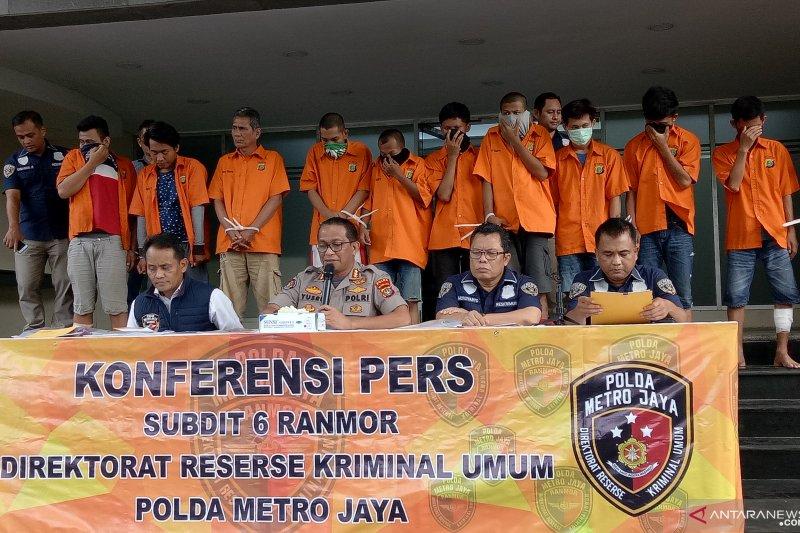 Dua maling 30 kali gasak motor di Jakarta