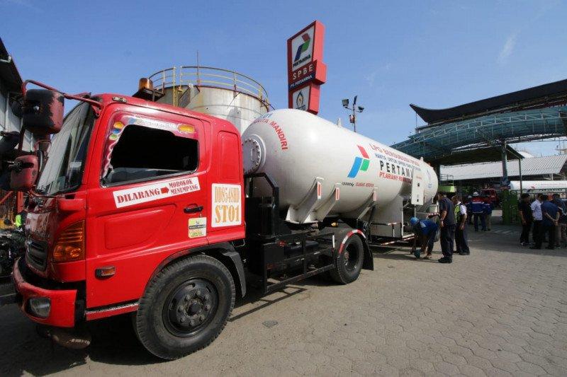 Pertamina jamin stok LPG-BBM di Sulawesi