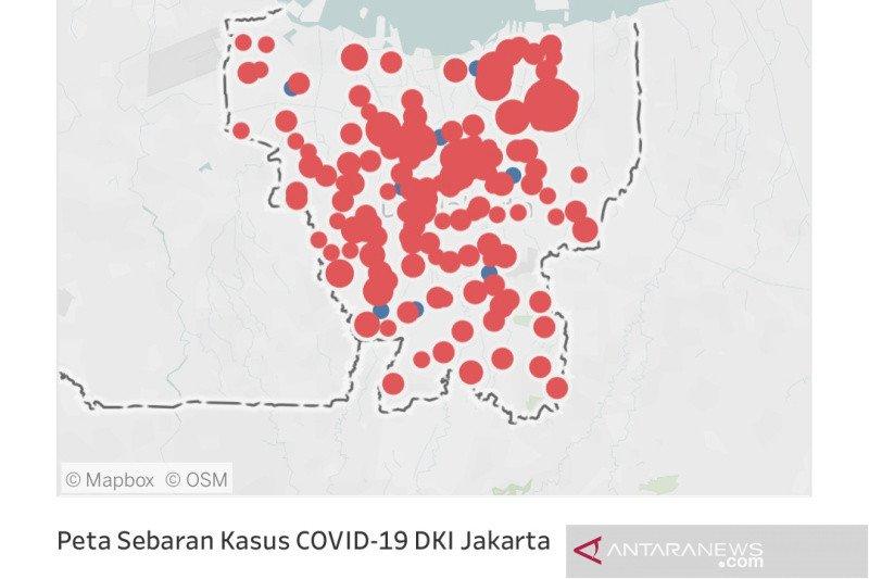 210 orang dinyatakan positif COVID-19 berada di Jakarta