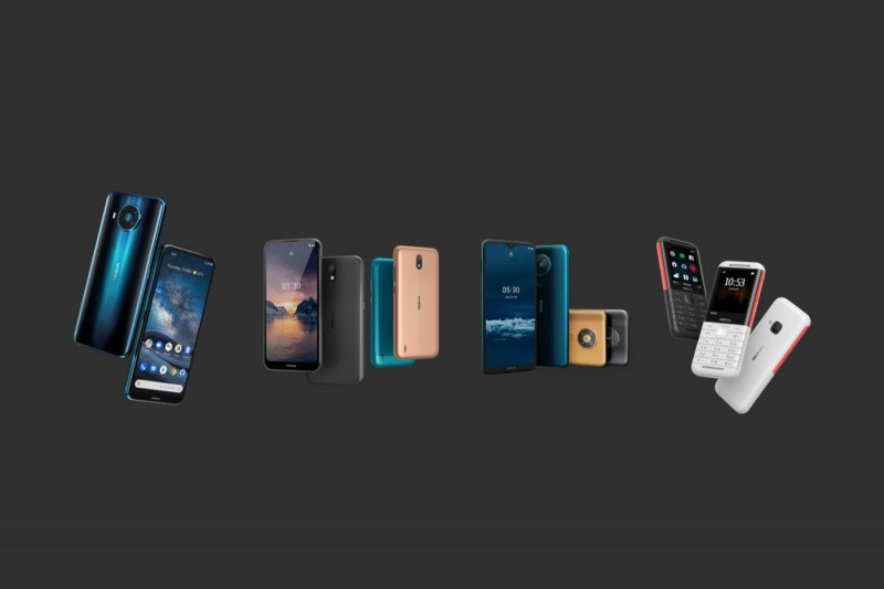 Bagaimana bentuk Nokia 1.3 harga Rp1,6 jutaan