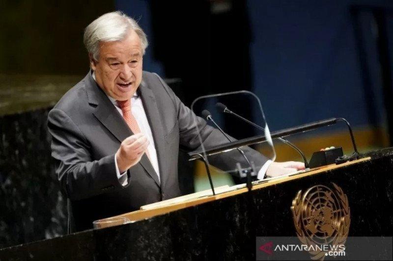 PBB sebut wabah corona ujian terbesar sejak perang dunia kedua