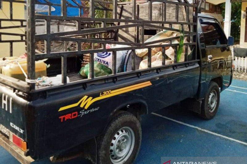 Polisi tangkap petani pembawa ganja