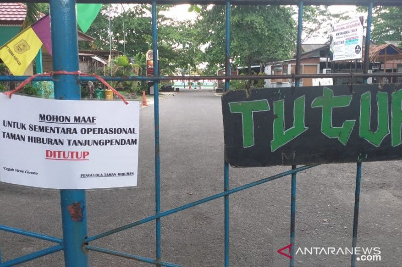 Pemerintah Kabupaten Belitung tutup sementara  wisata Pantai Tanjung Pendam