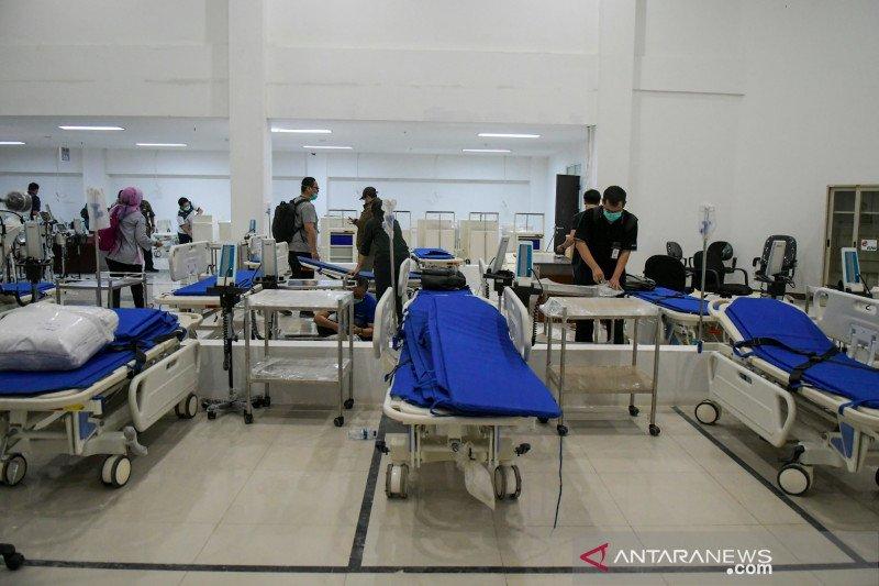 RS Darurat COVID-19 tidak terima pasien anak di bawah 15 tahun