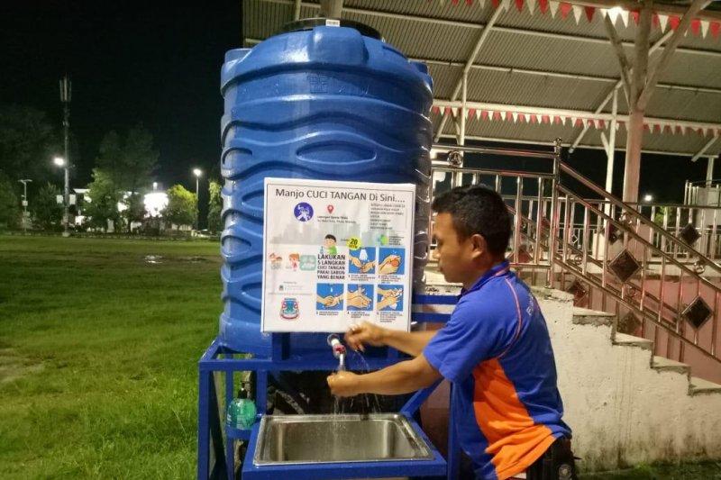 Kota  Manado sediakan 53 titik tempat cuci tangan untuk publik