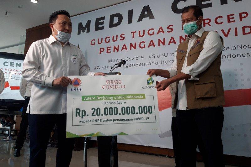 PT Adaro serahkan bantuan senilai Rp20 miliar untuk tangani COVID-19