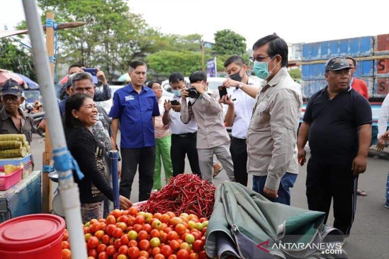 Pasar tradisional di Manado tetap akan beroperasi normal