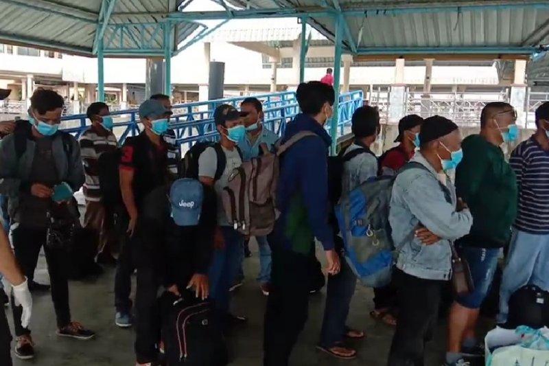 81 warga Bengkalis dari Malaysia dikarantina cegah penularan virus corona