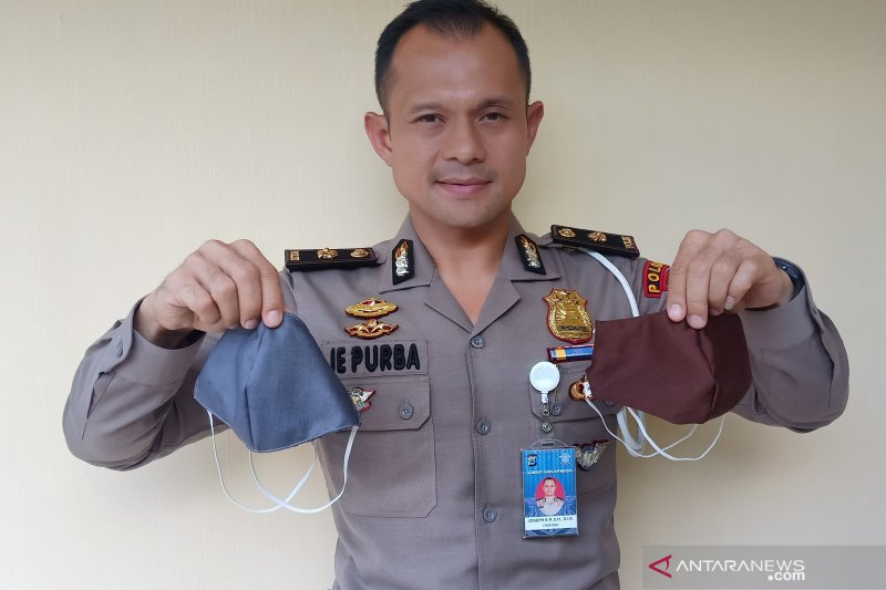 Kompol Joseph berdayakan penjahit bikin masker untuk dibagikan