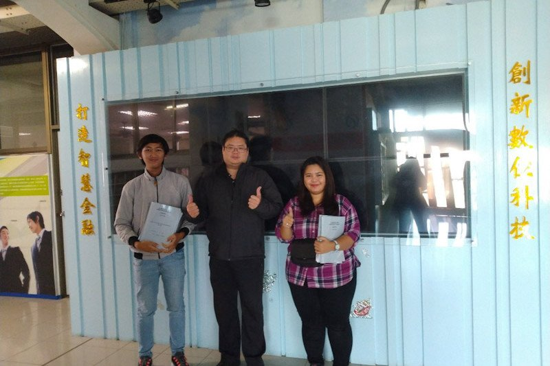 Dua mahasiswa IIB Darmajaya raih nilai sempurna di Taiwan