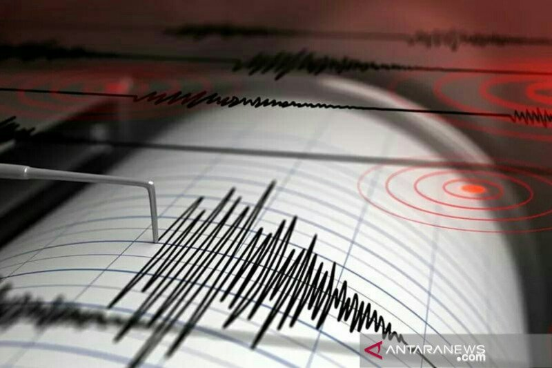 Getaran gempa dengan magnitudo 3 dirasakan di Pacitan