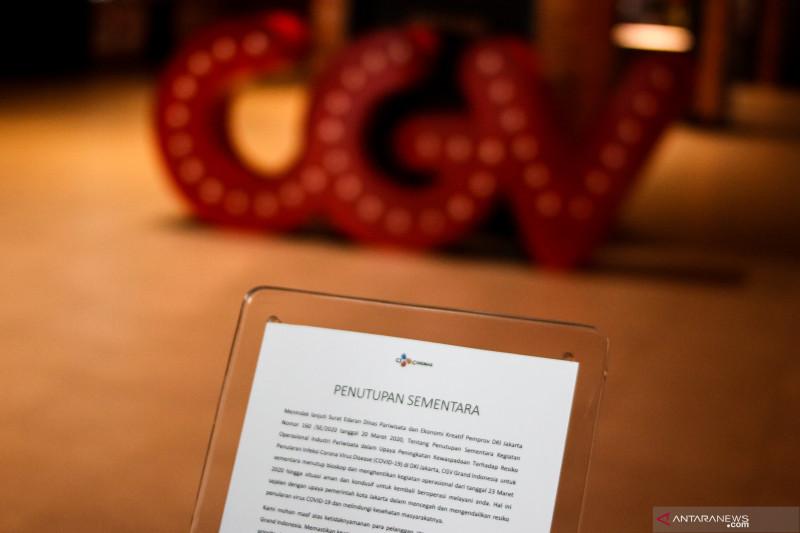 CGV Cinema memperpanjang penutupan jaringan bioskop