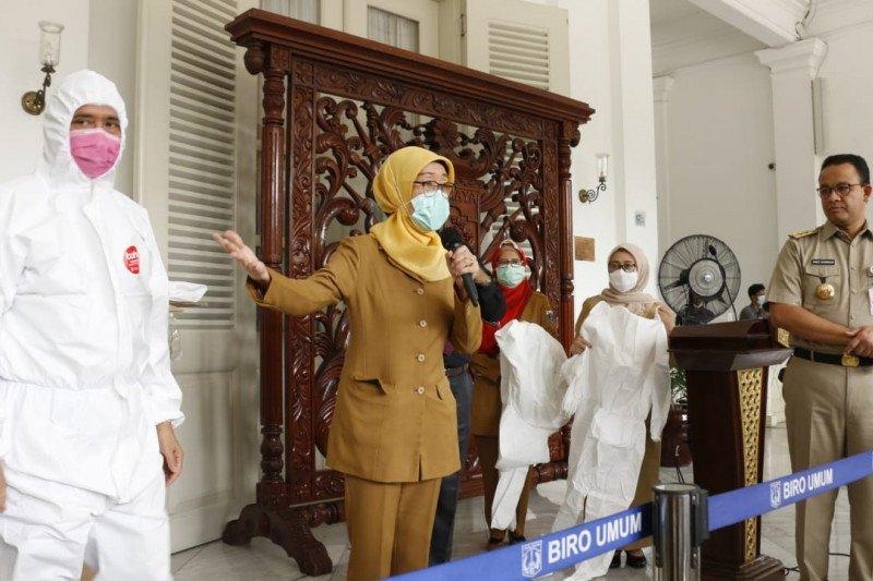 40.000 APD baru untuk hadapi penyakit virus Corona/COVID-19 di Jakarta segera dimanfaatkan