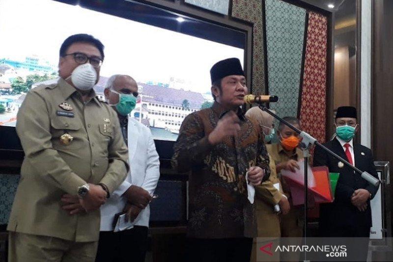 Dua orang PDP di RS Muhammadi Husein Palembang meninggal