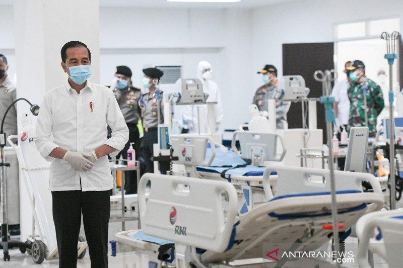 Presiden Jokowi: Pemerintah terus menambah tempat isolasi pasien COVID-19