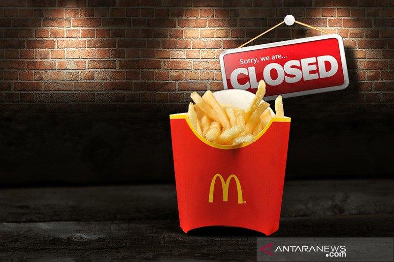 McDonald's tutup sementara seluruh cabangnya