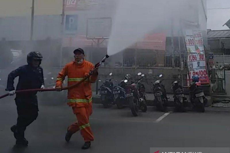 293 titik di Kota Bogor disemprot disinfektan