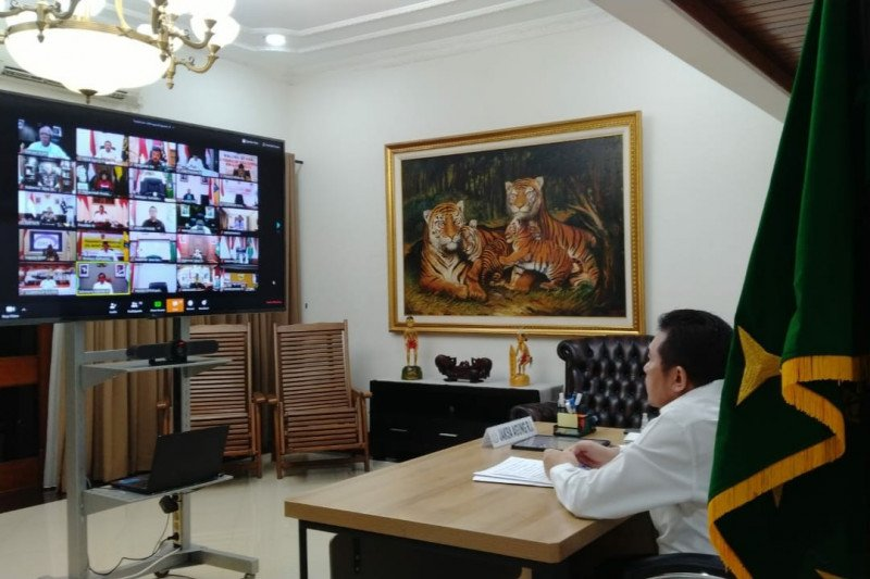 Jaksa Agung minta inovasi sidang via vicon selama masa wabah virus corona