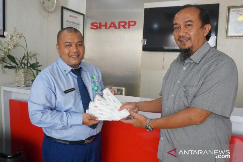PT Sharp donasi masker N-95 bagi tenaga medis COVID-19