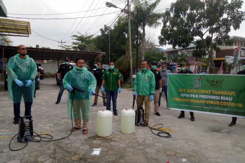Video - Aksi PKB Riau perangi COVID-19