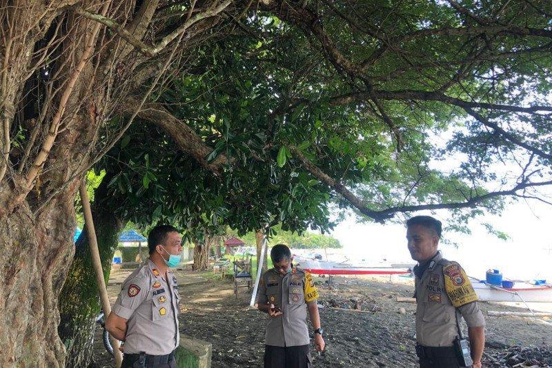 Kapolres Barru Sulsel patroli halau berkumpul massa di tempat wisata