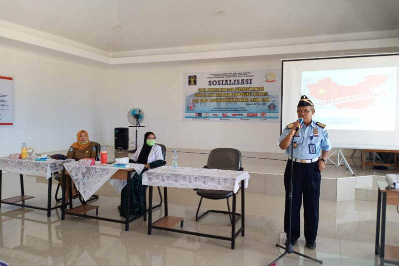 Lembaga Pemasyarakatan di Sulawesi Tenggara siapkan ruang isolasi COVID-19