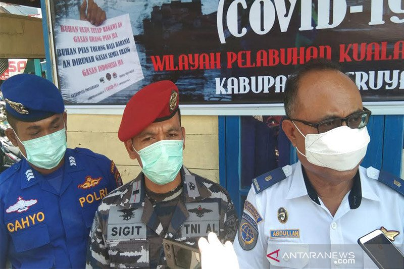 Pengawasan kapal masuk di pelabuhan Kuala Pembuang semakin diperketat