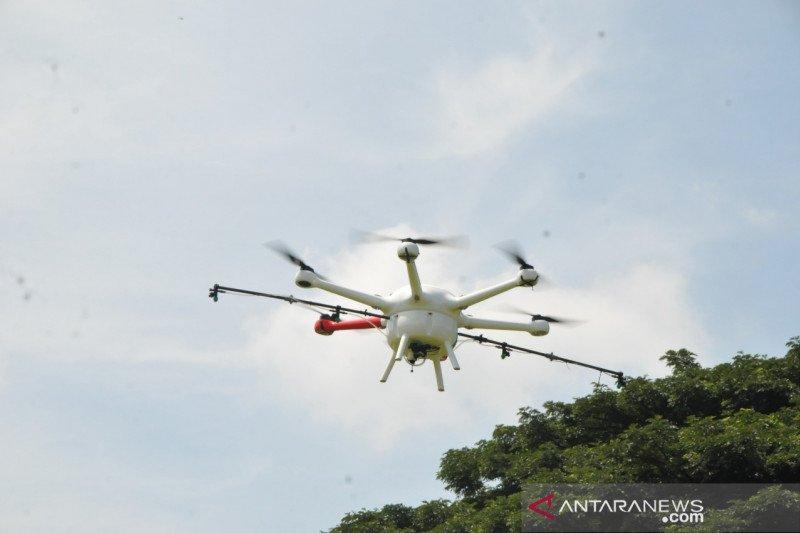 Drone Motodoro UMM dikerahkan bantu semprotkan disinfektan