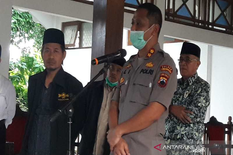 Polres Temanggung akan tindak tegas kerumunan masyarakat