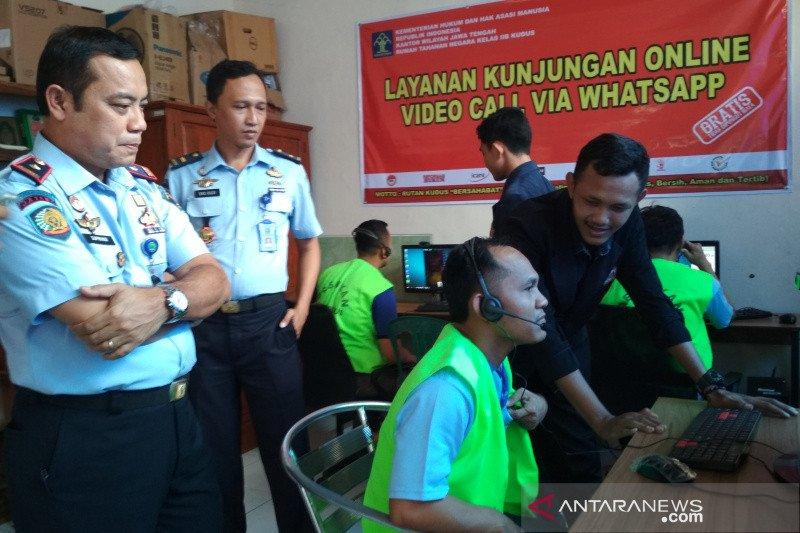 """Rutan Kudus berlakukan kunjungan ke narapidana secara """"online"""""""