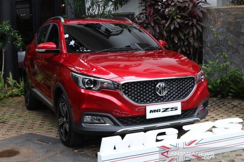 MG Motor Indonesia resmi luncurkan kendaraan SUV MG ZS dengan harga Rp255.8 juta
