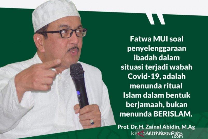 MUI: Umat Islam tunda acara keagamaan minimalisir penyebaran COVID-19