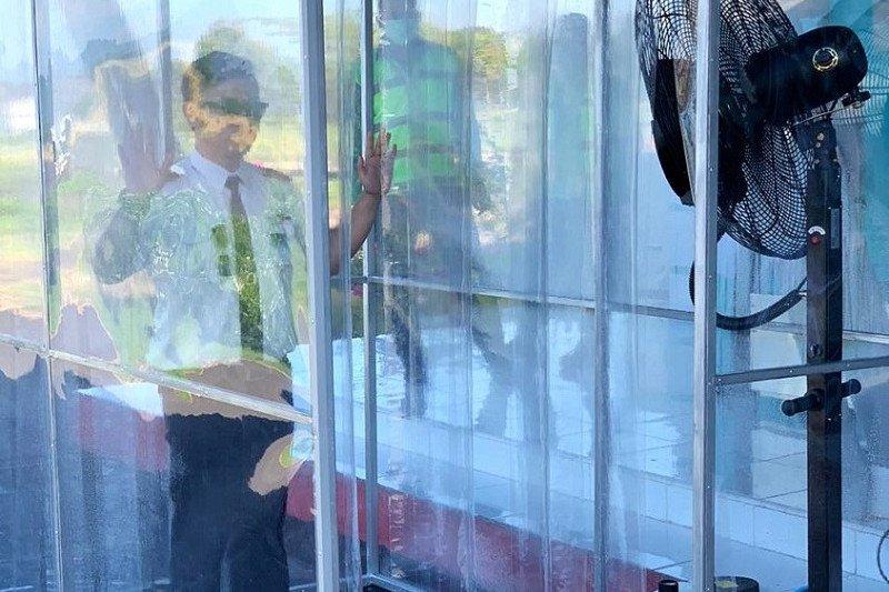 Santoso, peraih Kalpataru bikin bilik sterilisasi untuk cegah COVID-19